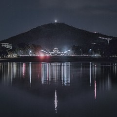 ANZAC Day 2016 - Parkes - ACT - 20160425 @ 04:24 (MomentsForZen) Tags: lake night reflections dark square lights australia hasselblad parkes lightroom eternalflame australiancapitalterritory lakeburleygriffin australianwarmemorial dawnservice hasselblad500cm anzacparade mountainslie topazlabs pixelmator photoshopexpress exifeditor topazsimplify photofxlab momentsforzen anzacday2016 hasselbladcfvii16mp