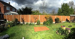 "Every weather possible on today's job! Still managed to get a good distance of new fencing up even if the old posts where held in with a tonne of concrete each! Working with my dad and brother and Adam "" @wardensfencing "" #wardenstreecare http://ift.tt/26 <a style=""margin-left:10px; font-size:0.8em;"" href=""http://www.flickr.com/photos/137723818@N08/26056971143/"" target=""_blank"">@flickr</a>"