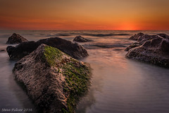 A Lucky Find (Pulver41) Tags: ocean longexposure sunset seascape beach gulfofmexico water rocks florida clearwater afterglow reddingtonbeach