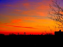 New York Sunset (dimaruss34) Tags: sunset newyork brooklyn image dmitriyfomenko