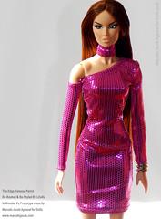 OOAK FUCSIA 2 EDIT (marcelojacob) Tags: vanessa fashion doll dress jacob barbie edge marcelo perrin royalty reroot ldolls