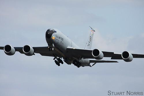 KC-135R Stratotanker 63-7999 351st Air Refueling Squadron RAF Mildenhall