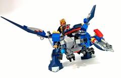 70327 - kings mechdragon01 (chubbybots) Tags: king lego mech moc nexoknights