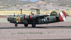 Collings Foundation Consolidated B-24J Liberator 44-44052 N224J 'Witchcraft' (ChrisK48) Tags: airplane aircraft witchcraft liberator b24 dvt phoenixaz collingsfoundation kdvt b24j n224j phoenixdeervalleyairport cn1347 consolidatedb24j85cf usaaf4444052