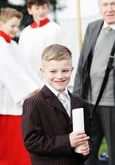Communion (Elis Abeth) Tags: boy smile germany happy deutschland candle child group kerze kind fest communion junge gruppe lcheln glcklich kommunion
