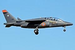 E83 /705-TZ  ALPHA JET  FRaf (MANX NORTON) Tags: italy casa tiger jets polish f16 ami 09 falcon mirage af alpha su30 meet typhoon spartan sukhoi ntm rafale c27j c235 2000d fraf