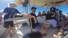 Boat To Somewhere (minimi007) Tags: sea summer water sunshine outdoors hawaii boat us day diving maui scubadiving lanai watersport gopro goprohero kesa snorkeln gopro4 gopro4black