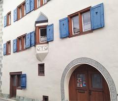 Tamins (micky the pixel) Tags: building schweiz switzerland suisse architektur gebude fassade erker graubnden grischuna tamins