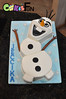 Olaf Cake (bsheridan1959) Tags: olafcake disneyfrozencake fondant marshmallowfondant olaf snowman winter birthdaycake kidscake