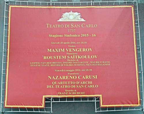 Royal San Carlo Theatre in Naples