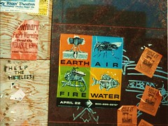 Earth Day, 1990 (Jeff R. Lonto) Tags: ecology minnesota graphicart poster graffiti protest minneapolis environmental environment activism leaflet mn nineties 1990s 90s earthday april22
