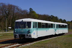 Ferkeltaxe 771 065-0 + 771 007-2 Usedomer Bderbahn (UBB( in station Seebad Heringsdorf 21-04-2016 (marcelwijers) Tags: station bahnhof 007 065 ubb 0650 771 heringsdorf seebad bderbahn 0072 ferkeltaxe usedomer 21042016
