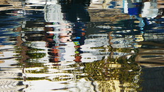 P1150438 (omirou56) Tags: sea reflection art europe greece 169 galaxidi θαλασσα ελλαδα αντανακλαση ευρωπη γαλαξιδι panasoniclumixdmctz40