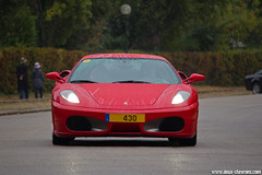 Cars & Coffee Paris 10/2011 - Ferrari F430 (Phautomobile.fr / Deux-Chevrons.com) Tags: auto paris france car automobile ferrari voiture exotic coche gt supercar exotics f430 430 ferrarif430 sportcar ferrari430 carscoffee