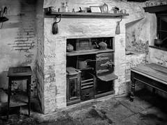Wortley Top Forge_280314_0029 (Steve Bark) Tags: uk england bw white black history kitchen mono fuji top sheffield historical fujifilm forge grayscale range greyscale barnsley wortley xtrans
