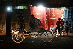 The Waiting Rickshaw-Walla (N A Y E E M) Tags: street dog men raw availablelight candid roundabout latenight rickshaw unposed untouched bangladesh carwindow unedited chittagong sooc kazirdewri