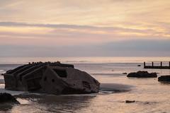 Bognor NovemberPB165937_30 (tony.rummery) Tags: sunset england seascape beach sussex unitedkingdom olympus gb ww2 southcoast groyne bognor englishchannel mulberryharbour bognorregis breakwater mft microfourthirds epm1