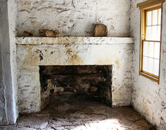 Old Hearth (studioferullo) Tags: old light arizona white house history classic window fireplace bright hearth