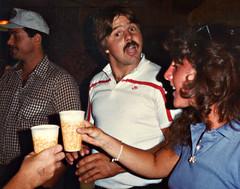 Hutley's. August 1983. (BruceLorenz) Tags: street new york ny st bar island pub long main tavern 1984 eighties 1980s 501 islip theeighties hutleys