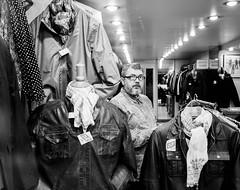 Outlet Store Paris (Dan-Schneider) Tags: street camera people urban paris photography prime europe streetphotography olympus scene human moment schwarzweiss decisive schneider 17mm mft omdem10