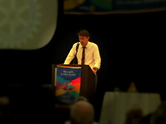 """Derran Moss is a former Rotary World Peace Scholar (2002).Photo credits: Erik GrunwaldMore information: <a href=""""http://northraleighrotary.org/2016-district-conference"""" rel=""""nofollow"""">northraleighrotary.org/2016-district-conference</a>"""