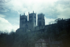 Durham Cathedral (pho-Tony) Tags: world film japan shop photography japanese iso200 day boots 1996 pinhole iso plastic 200 kit gadget expired wppd c41 tetenal worldpinholephotographyday gakkenpinhole