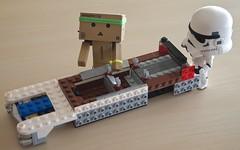It's taking shape!  (Damien Saint-) Tags: toy starwars amazon lego vinyl yotsuba danbo revoltech goodsmilecompany danboard