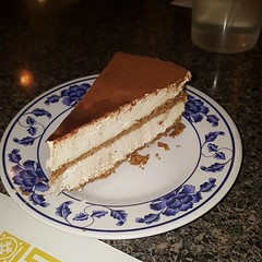 This is a vegan tiramisu. It's one of the best tiramisu I ever tasted.