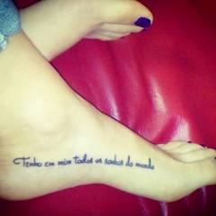 New Tattoo (Lydia_Reis) Tags: new tattoo foot poetry poem skin literature poet poesia piede pelle tatuaggio verso verse poeta letteratura fernandopessoa frase portoghese pourtuguese