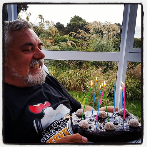 Happy Birthday Nigel #birthdayboy #summerholiday #southernroadtrip #rakiura