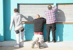 Men At Work (Timm Ranson) Tags: people men digital work coast seaside sony working streetphotography sunny busy eastcoast socialdocumentary alpha900