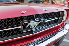 1964 Mustang (Photos By Clark) Tags: california original red classic ford unitedstates elcajon cities places location vehicles where pony restored northamerica mustang subjects lightroom locale carsandtrucks canon2470 canon60d