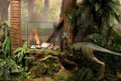 Dino Diorama (Piedmont Fossil) Tags: museum dinosaur sydney australia collection national opal