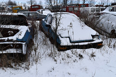 DSC_0719 v2 (collations) Tags: ontario abandoned autos derelict automobiles rockwood junkyards wreckers autowreckers autograveyards mcleansautowreckers carcemeteries