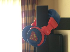 (Stefa_Ramirez7) Tags: blue red man cute love geek super superman kawaii headphones friki perfecto cascos audfonos