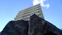 University Vaihingen Stuttgart, Germany (amazon_sucks) Tags: rock highrise modernist hochhaus felz