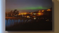 Northern Light Up Canvas (mackenziepix) Tags: lighting trees sea sky mountains green art wales night stars landscape photography lights video long exposure space north samsung astro canvas astrophotography aurora astronomy custom snowdonia northern borealis nx3000