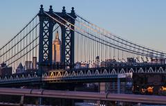 Framed (J.Salmoral) Tags: nyc bridge newyork building puente washington state edificio empire nuevayork