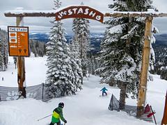 The Stash at Northstar (benjaminfish) Tags: snow ski january tahoe northstar 2016