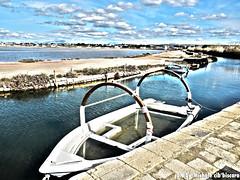 Saline di Mozia (mikki mixx) Tags: barca mare sicily saline sicilia trapani mozia