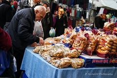 Street 70 (`ARroWCoLT) Tags: street old people white man cookies photography dof open market bokeh samsung mini istanbul bazaar f18 seller rusk sokak cuma nx amca pazar üsküdar 17mm tesbih pazarı galeta satıcısı nxm