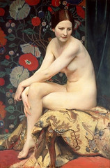 Nude, 1927 // George Spencer Watson (mike catalonian) Tags: uk 1920s portrait female painting fulllength 1927 georgespencerwatson