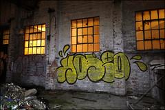 Rodeo (Alex Ellison) Tags: urban night graffiti boobs rodeo graff irp eastlondon throwup urbex throwie