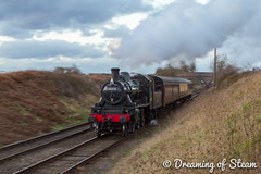 GCR-WINTER-GALA-77 (Steven Reid - Reid Photographic) Tags: railroad heritage train vintage smoke engine railway steam locomotive steamengine 260 steamlocomotive lms 2016 greatcentralrailway gcr ivatt wintergala heritagerailways 46521 ivattclass2
