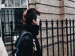 my love (noelia.juradop) Tags: red london girl hair teen filter kensington bomber