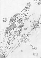 Supergirl (Lorkalt) Tags: kara drawing el superman supergirl dccomics desenhos goiania goias desenhista karazorel sketchdrawing sketchdaily nonaarte lorkalt sketchdiario leandrolorkalt
