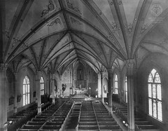 Brown Photograph 25: Old St. Joseph Cathedral Interior (Ohio County Public Library) Tags: churches stjosephs neogothic wheeling stjosephscathedral churchinteriors wheelingwv brownphotographs wcbrown