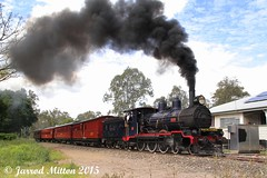 The Railway Of Industry (Mittens_97) Tags: blue smoke rail railway steam queensland ipswich qpsr