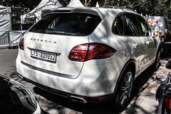 Libya Remade (Tripoli) - Porsche 958 Cayenne (PrincepsLS) Tags: germany 5 plate cayenne porsche license libya tripoli dsseldorf spotting libyan 958 remade