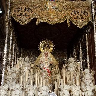 La #reina de #Sevilla la #macarena...